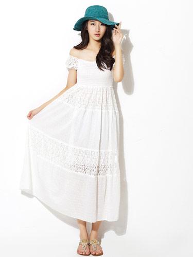 日系,洋裝,蕾絲,雪紡紗,vivi