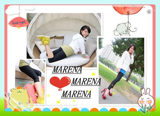 部落客, Marena瑪芮娜,提臀平腹七分高腰塑身褲,提臀平腹九分中腰塑身褲