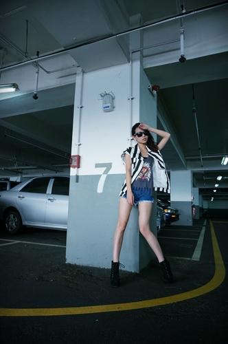 韓版女裝,牛仔外套,牛仔短褲,男朋友風格,馬甲,雪紡洋裝