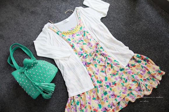 樂天Rainbow shop,夏天穿搭,夏季新品,螢光黃,海洋風,條紋包包