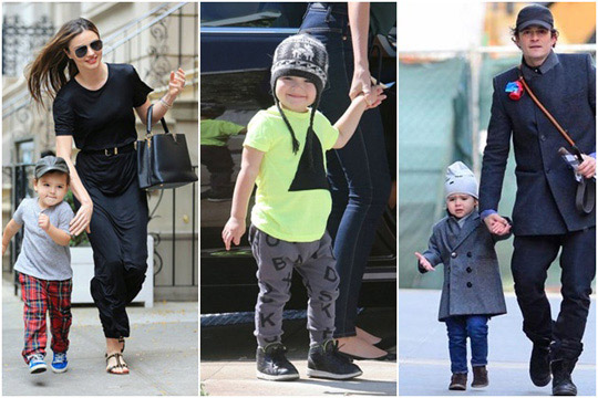 好萊塢名人小孩,時尚小孩,名人小孩穿搭,奧蘭多布魯