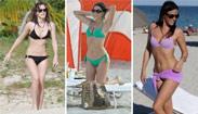 陽光、沙灘、比基尼!夏日海灘女孩泳衣穿搭術