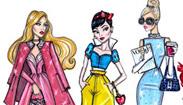 迪士尼公主變身時尚DIVA