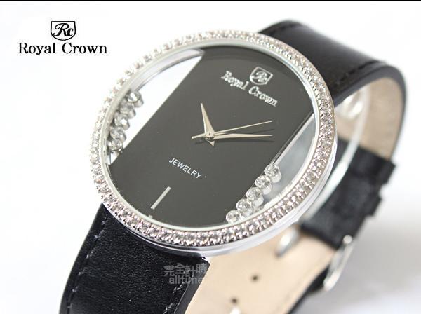 Royal Crown 典藏晶鑽 時尚質感女錶