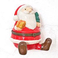 歡聚時刻聖誕老人珠寶盒