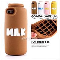 牛奶打翻造型 iPhone  手機殼
