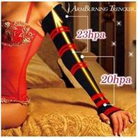 日本加長超強3D凸凹溫熱束手臂美臂蝴蝶臂束套