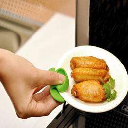 可吸附微波爐 -  隔熱矽膠 手套