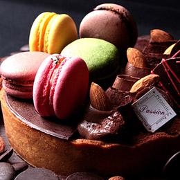 馬可塔6吋 ★馬卡龍巧克力的最佳結合
