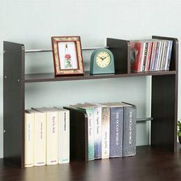 安格斯桌上型置物書架(胡桃色)