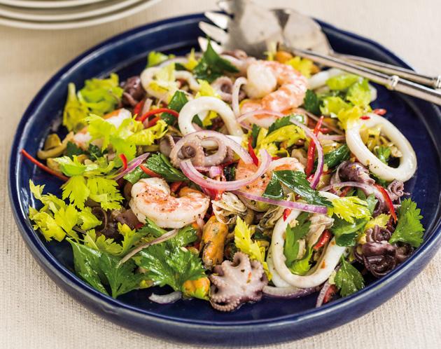frutti di mare € 14 frutti di mare seafood seafood salad