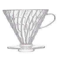 Coffee Dripper V60 03 Plastic Transparent