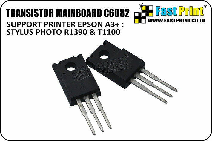 Spare Part Original Transistor C6082 Printer Epson T1100, R1390 - Fast Print
