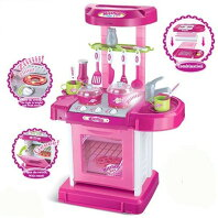 TOMINDO KITCHEN SET KOPER PINK