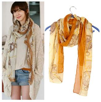 Promo Fashion dan Aksesoris Rakuten - syal & scarf korean vintage fashion