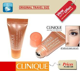 Promo Kecantikan dan Kosmetik Rakuten - clinique all about eyes serum de-puffing eye massage roll on (5ml)