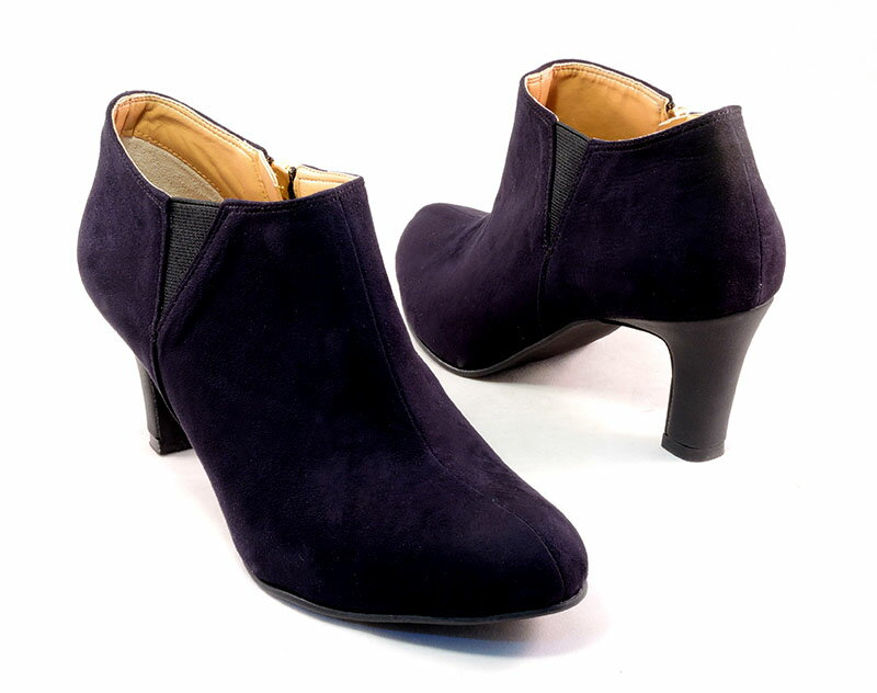 Mid-height Block Heel Booties 0