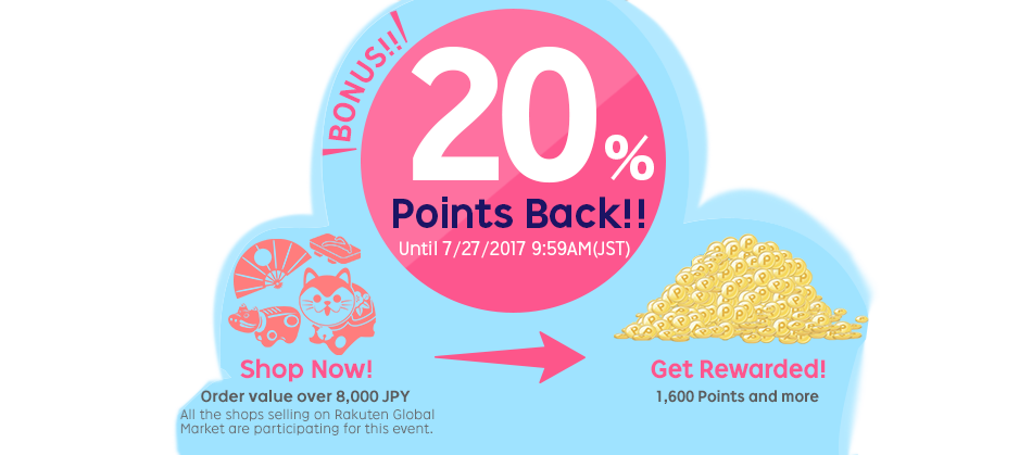 20% Point back