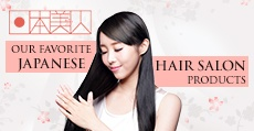 Our Favorite Japanese Hair Salon Products