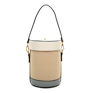 Bucket Type Basket Bag