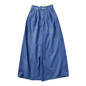 Denim Wide Trousers