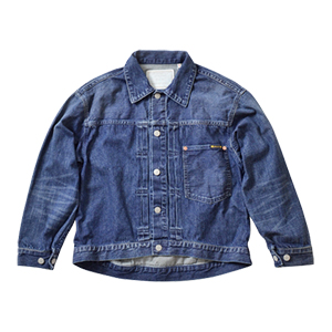 Wide Denim Jacket