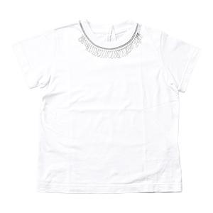 Classical Music T-cloth Neck Motif T-shirt