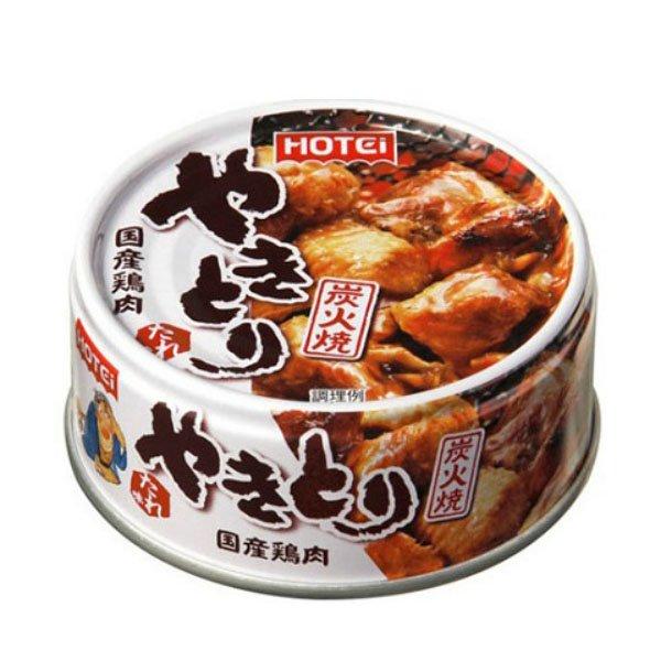 烤鸡肉串罐头