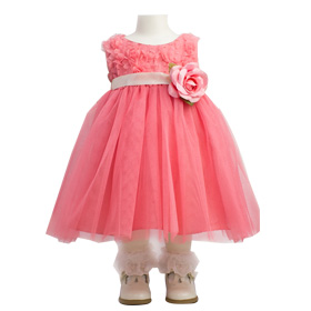 You child will feel like a princess in this elaborate dress.