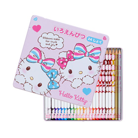 A wide variety of cute Hello Kitty merchandise available. From clothes to stationery, and even dolls!