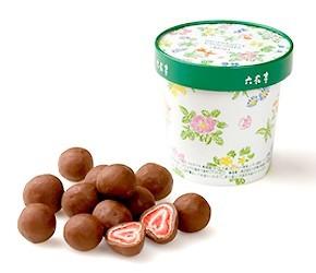 딸기 초콜렛 롯카테이
