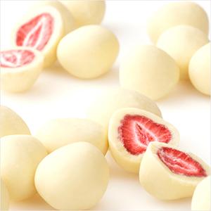 六花亭草莓巧克力夹心