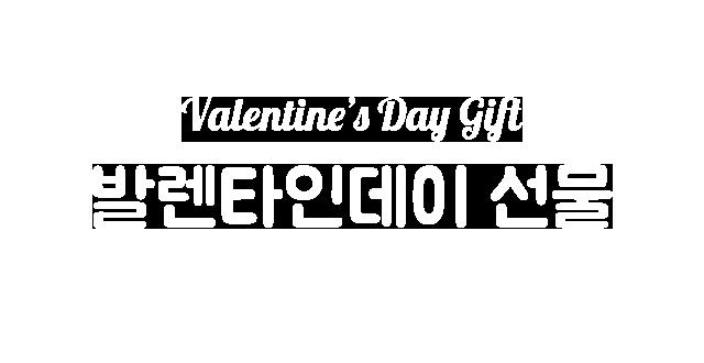 Valentine's Day Gift 발렌타인데이 선물