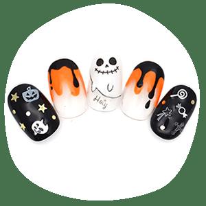 Halloween nail accessories