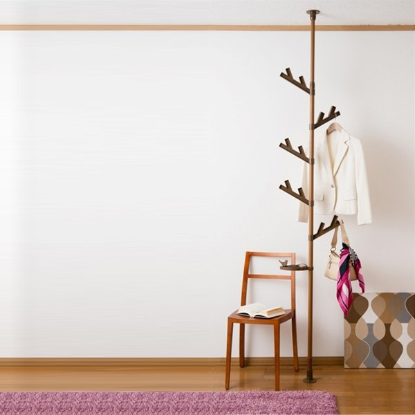 Tension rod hanger