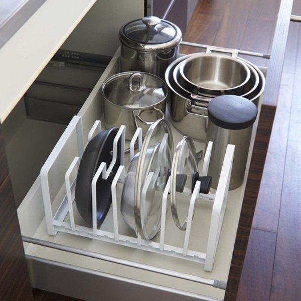 Pot lids storage