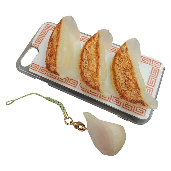 Fried dumpling shaped phone accessories