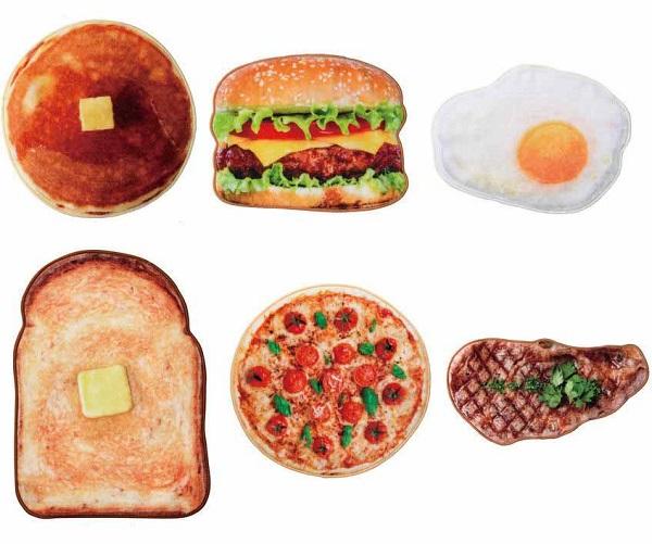 Food-themed handkerchiefs