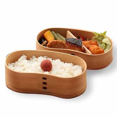 Wooden Wappa lunch box