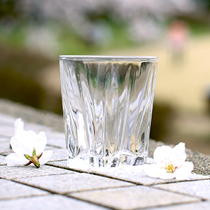 Blooming Cherry Blossom Glass