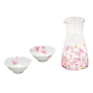 Cherry Blossom Drinking Set