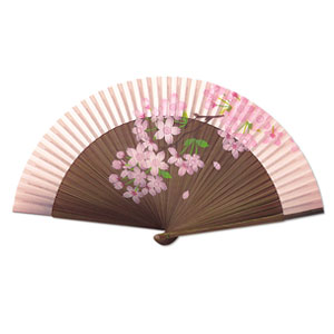 Cherry Blossom Pattern Fans