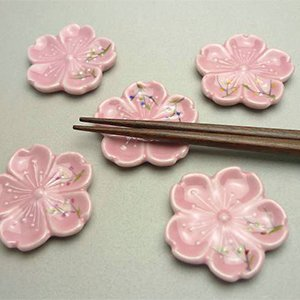 Cherry Blossom Chopstick Holders