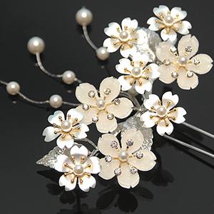 櫻花造型髮飾