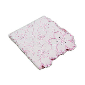 Cherry Blossom Pattern Handkerchief