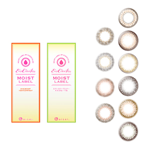 Ever Color 1day Moist Label Colored Contact Lens