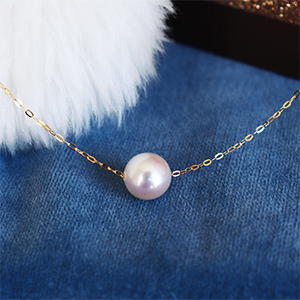 Akoya sea pearl necklace
