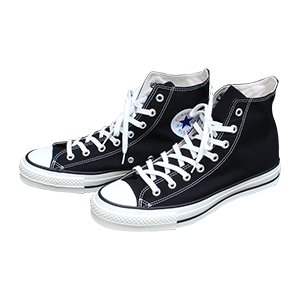 MADE IN JAPAN CONVERSE CANVAS ALL STAR J HI Black