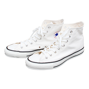 MADE IN JAPAN CONVERSE CANVAS ALL STAR J HI White