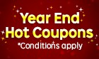 Year End Hot Coupons